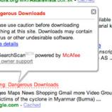 Per Yahoo, Google è un sito a rischio (??)