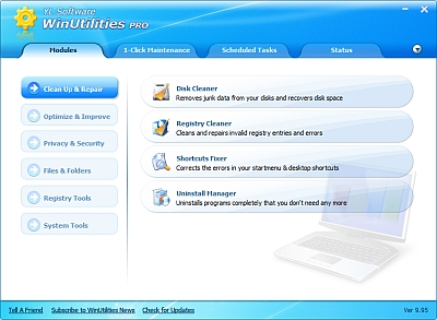 WinUtilities Pro, gratis solo per oggi