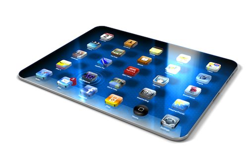 iPad 3 con retina display, dal 2012