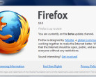 La beta 4 di Firefox 10 è già disponibile
