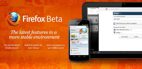 Arriva Firefox per dispositivi Android