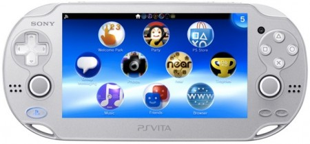Sony lancia la Playstation Vita color ghiaccio/argento
