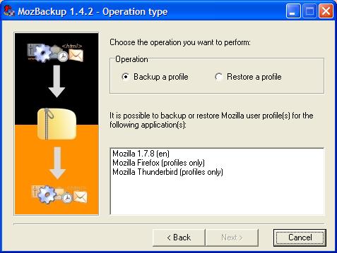 Mozilla Firefox: Fai il backup del tuo browser e anche Thunderbird con MozBackup