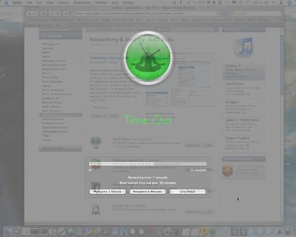Utility per Mac OsX: Time out, è l'ora di fare un break