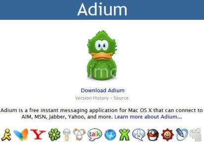 Adium: La nuova versione del noto client di instant messaging per Mac OsX