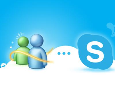 Skype-MSN-live-messenger